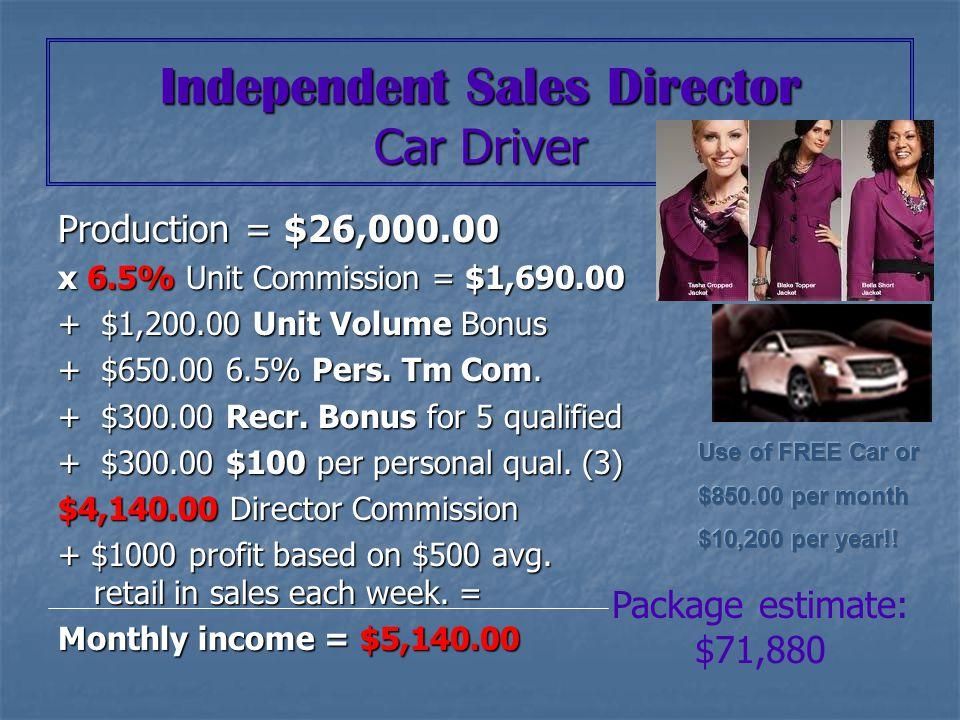 Sales Director Senior Sales Director Future Executive Senior Sales Director Executive Senior Sales Director Elite Executive Senior Sales Director