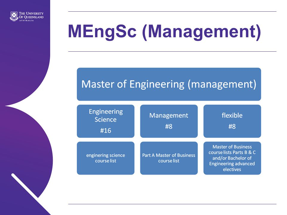 MEngSc (Management)