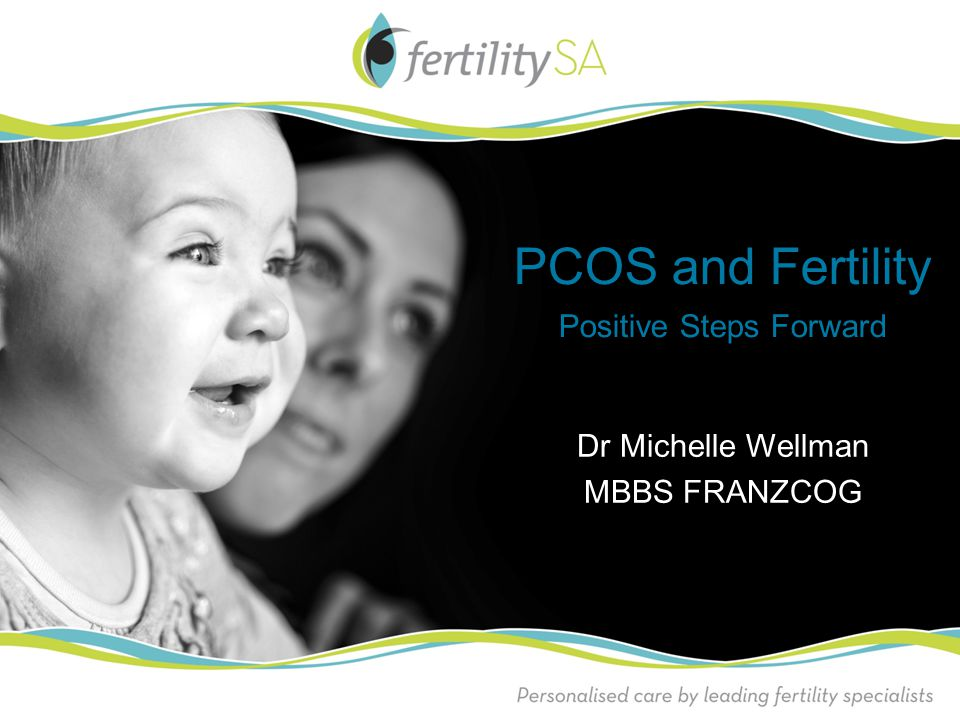 PCOS and Fertility Positive Steps Forward Dr Michelle Wellman MBBS FRANZCOG