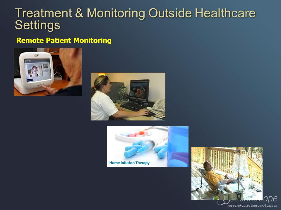 Treatment & Monitoring Outside Healthcare Settings Remote Patient Monitoring