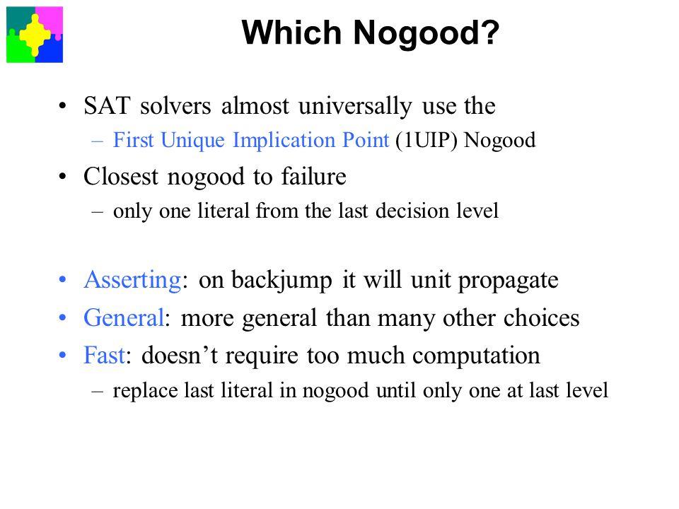 Which Nogood.