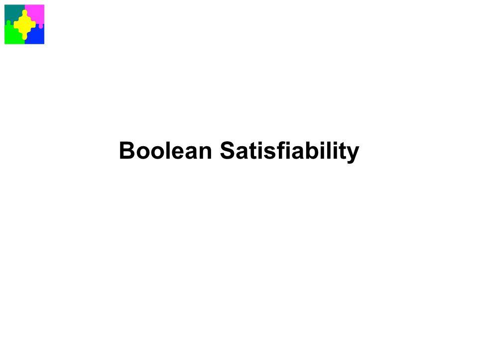 Boolean Satisfiability