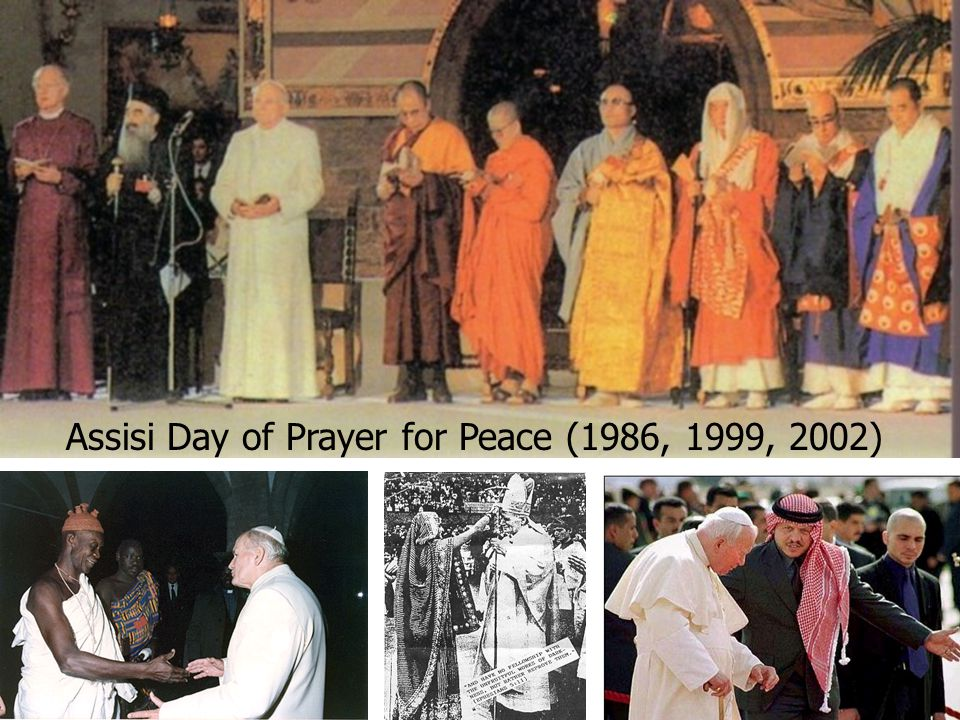 Assisi Day of Prayer for Peace (1986, 1999, 2002)