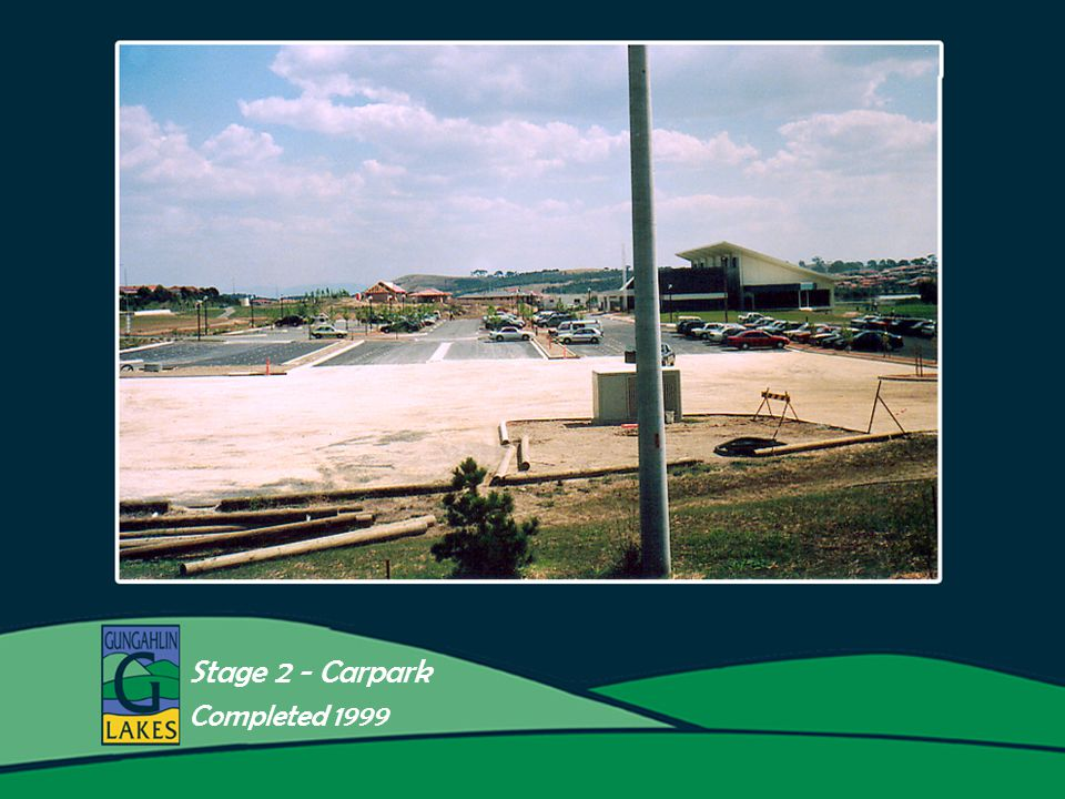 16aaa Stage 2 - Carpark Completed 1999
