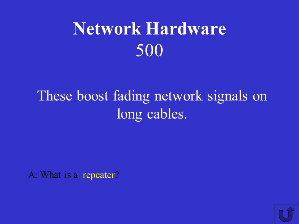 Network Hardware 400 A: What is a router? These are security devices that guard the connection between a LAN and the outside world (another LAN or WAN