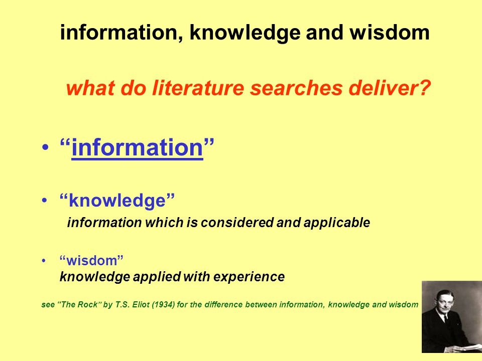 further reading searching the literature for answers  Straus S, Richardson SR, Glasziou P, Haynes BR.