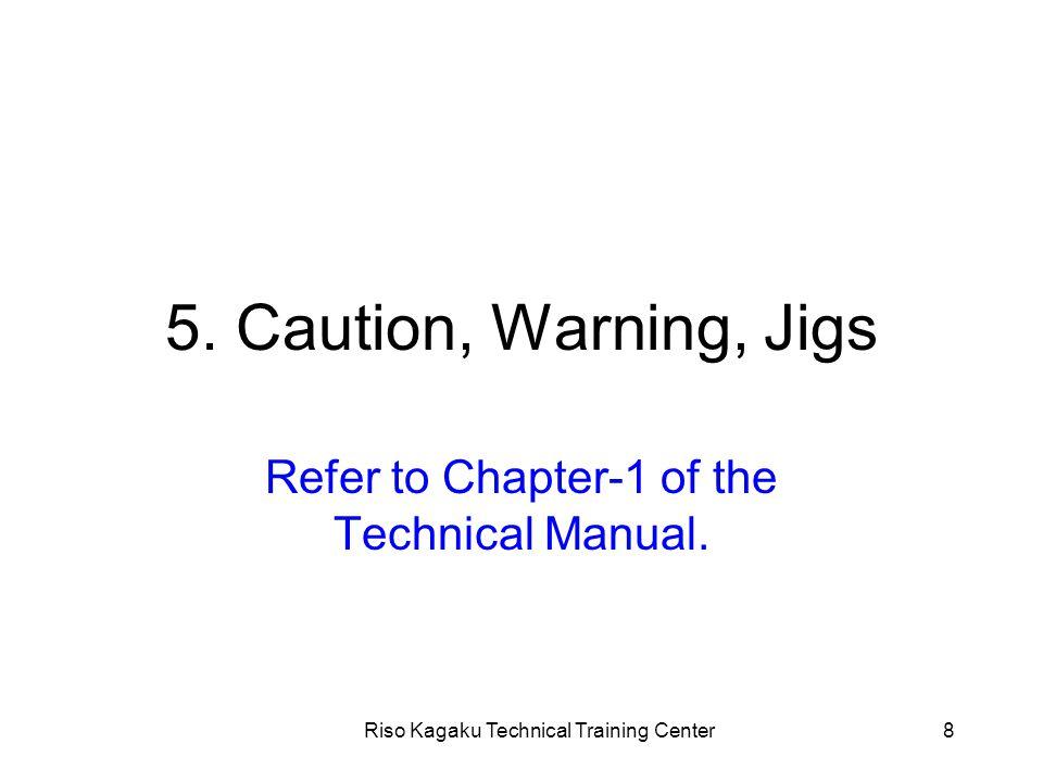 Riso Kagaku Technical Training Center49 2. Image adjustment Adjustments