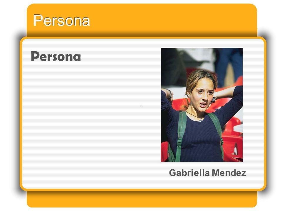 Persona Gabriella Mendez