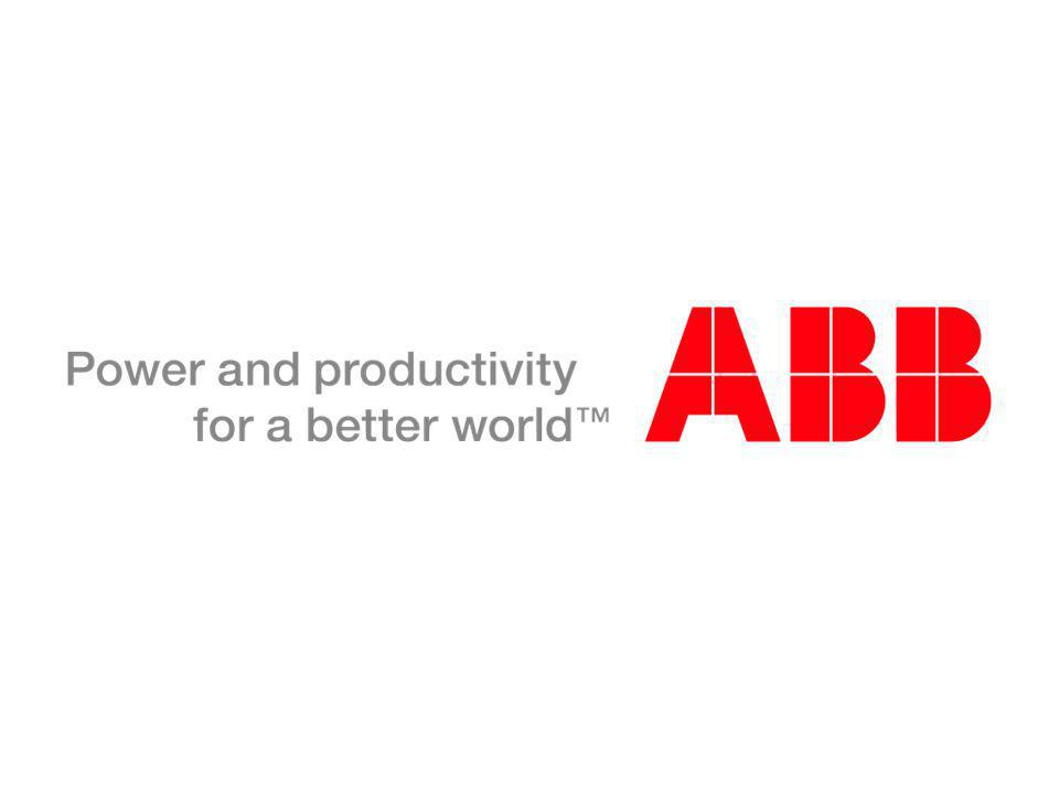 © ABB Group September 1, 2014 | Slide 14
