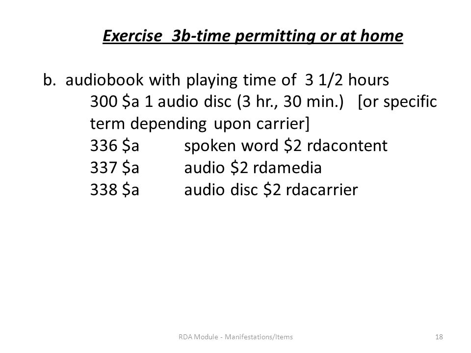 Exercise 3b-time permitting or at home b.