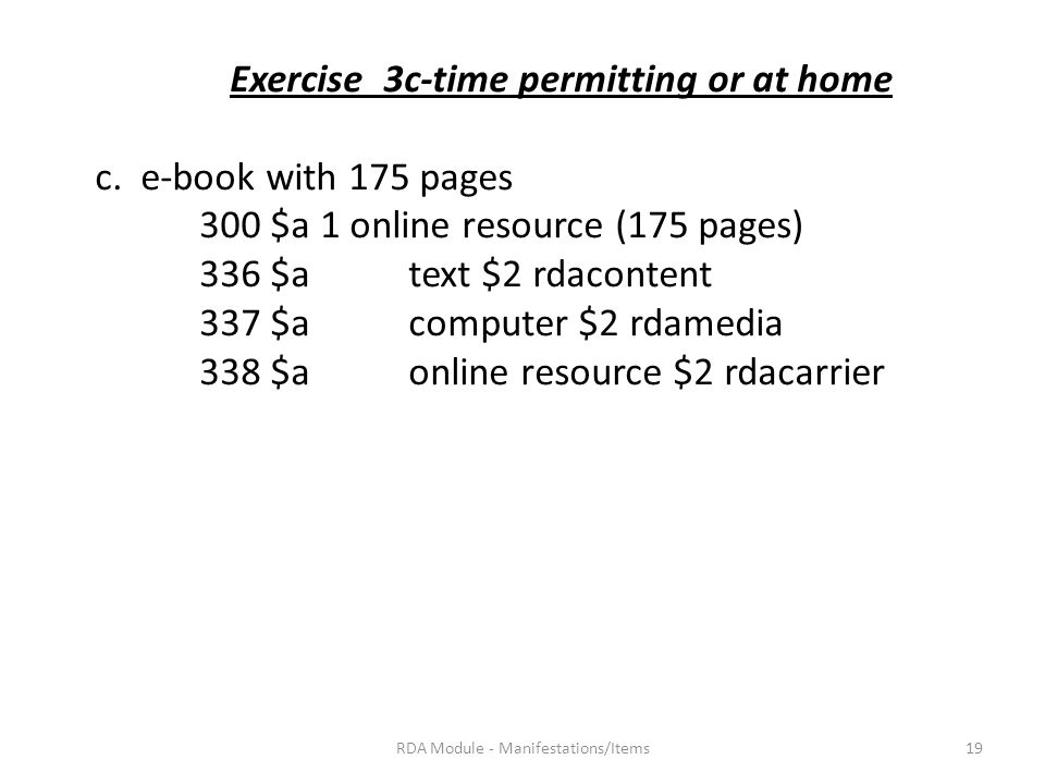 Exercise 3c-time permitting or at home c.