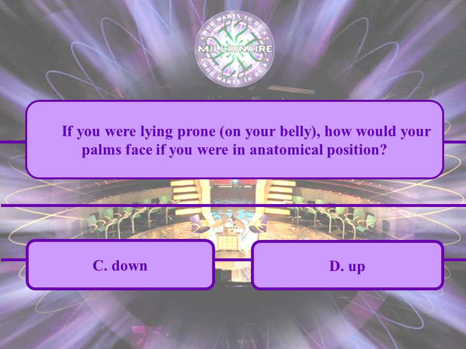 A.inward C. down B. out D.