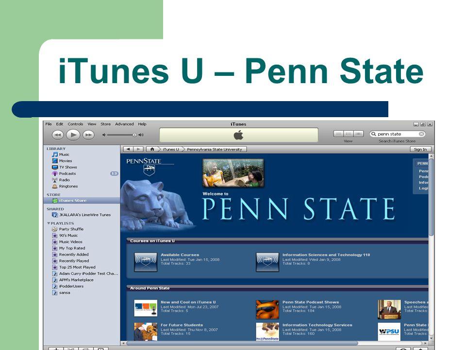 iTunes U – Penn State