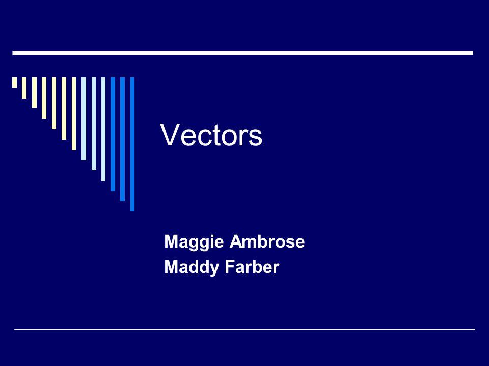 Vectors Maggie Ambrose Maddy Farber
