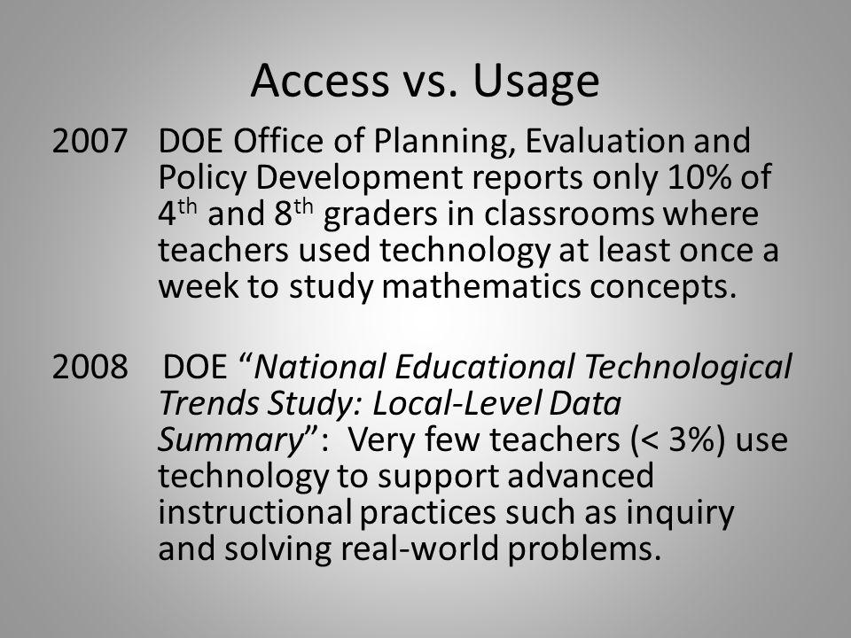 Access vs.