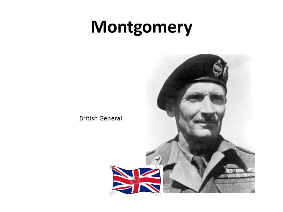 Montgomery British General