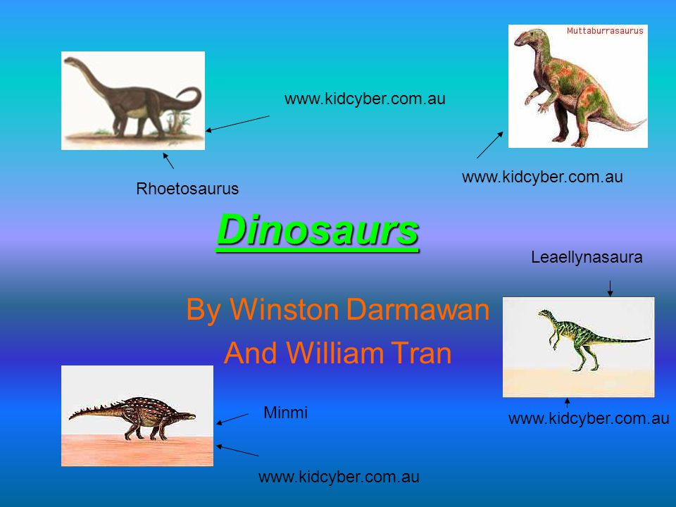 Triassic Period A long time ago, in the Triassic Period there mainly weren't many dinosaurs, but there were a lot of living things.