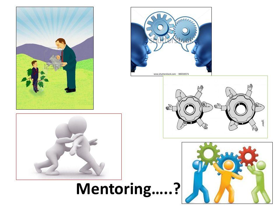 Mentoring…..