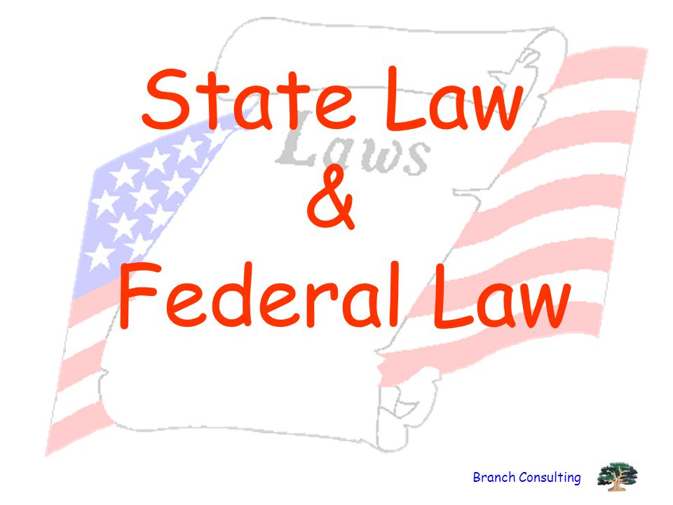 Branch Consulting State Law & Federal Law
