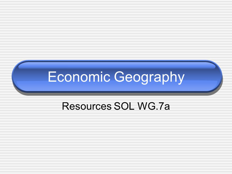 Natural Resources A natural resource is anything from nature that can be of value to humans.