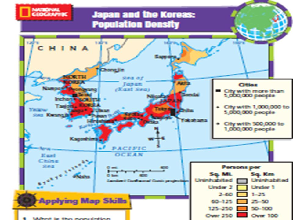 Which Countries Make Up East Asia What Is The Longest - Japan map questions