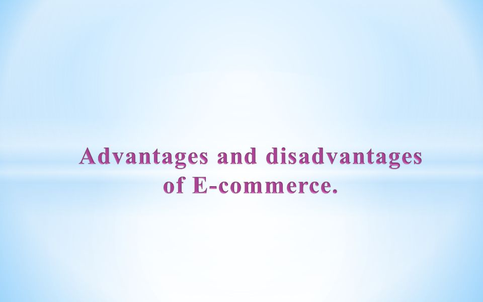 The invention of faster Internet connectivity and powerful online tools has resulted in a new commerce arena – Ecommerce.