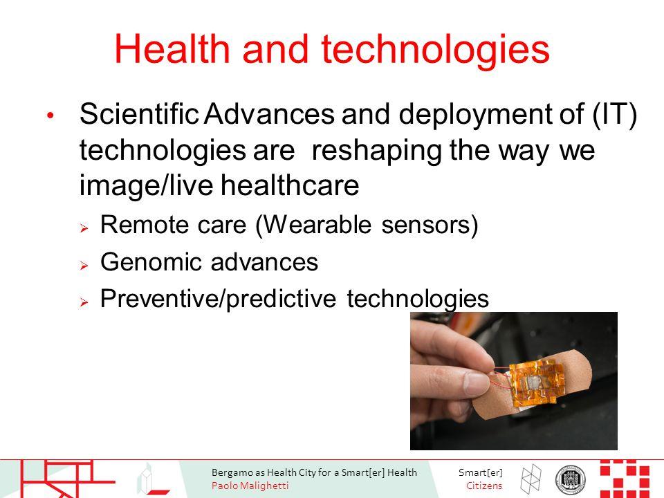 Bergamo as Health City for a Smart[er] Health Paolo Malighetti Smart[er] Citizens International active aging index