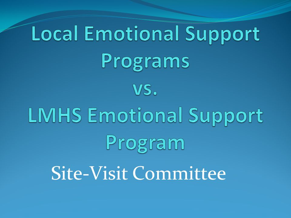 Site-Visit Committee