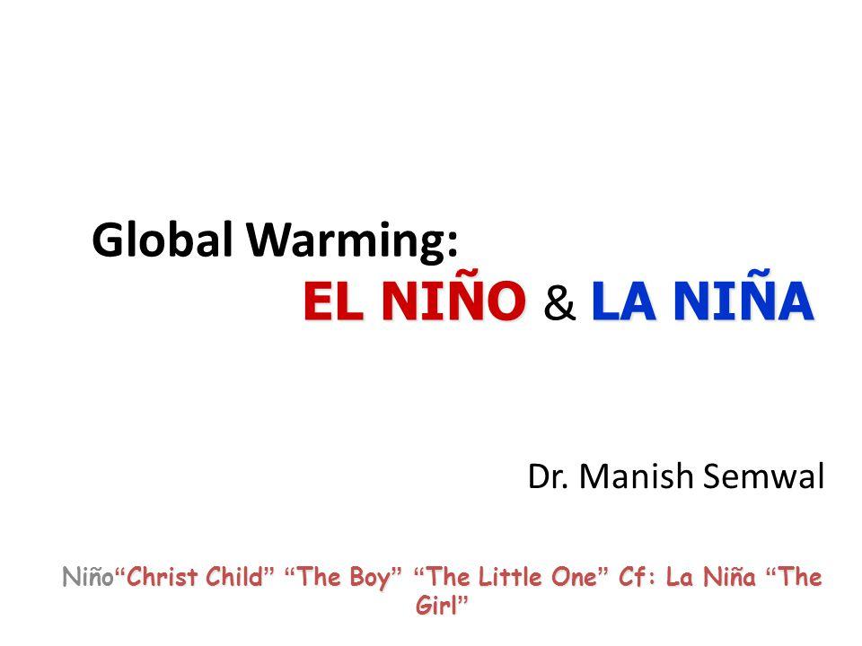 :2009/10 El Nino Base period: 1971-2000, Data source: NCEP, EMC Anomalous SST (Jan-Mar 2010) NINO4 regionNINO3 region
