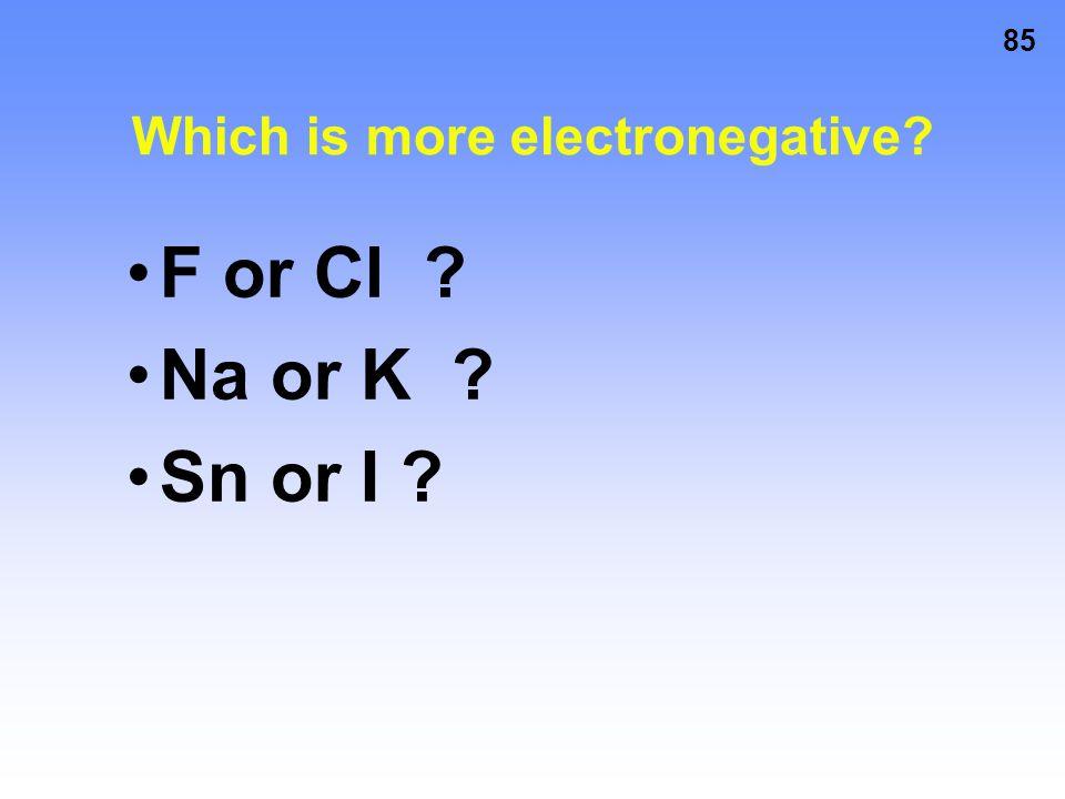 84 Electronegativity