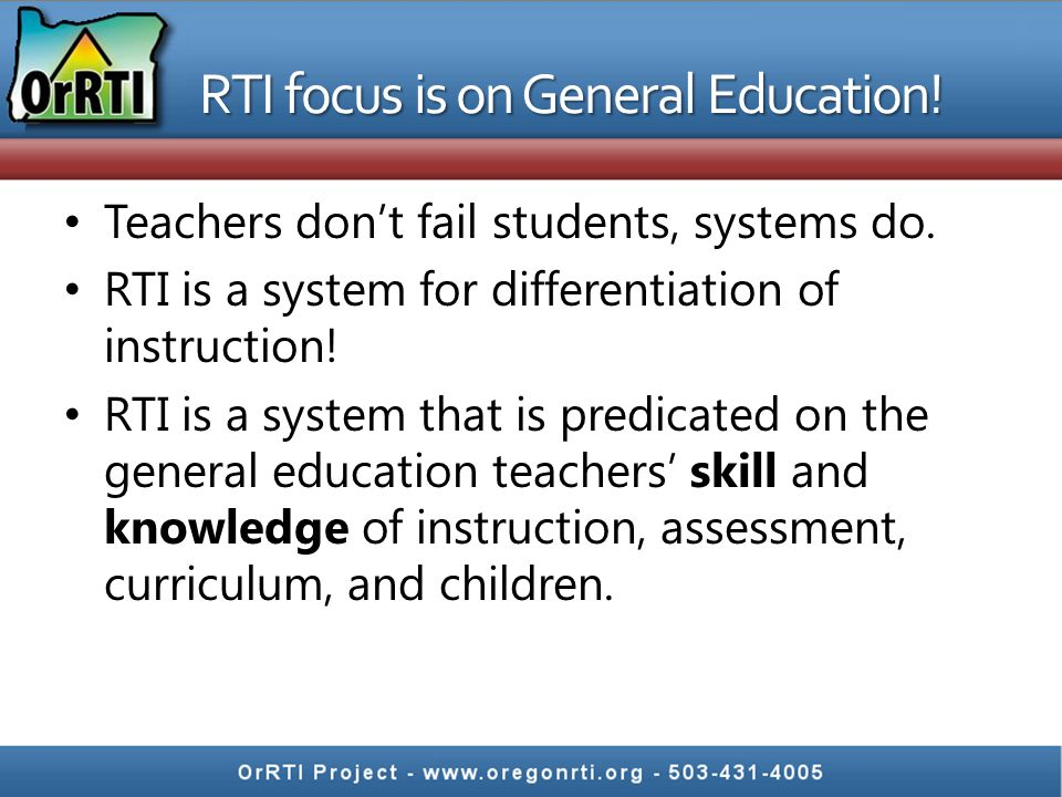 How do you plan and implement a RTI based system.