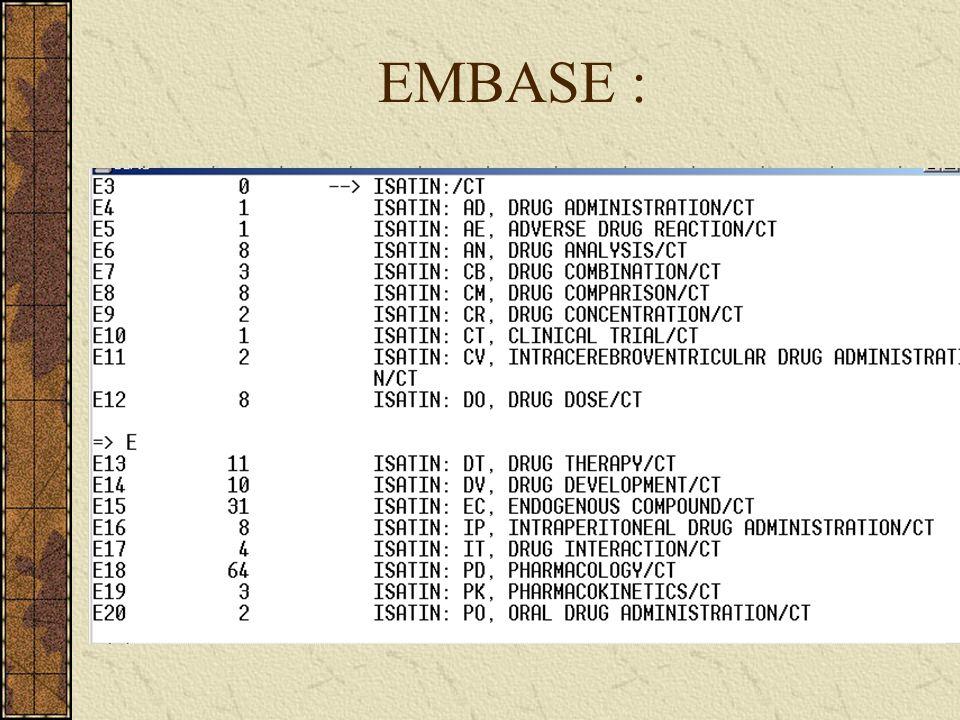 EMBASE :