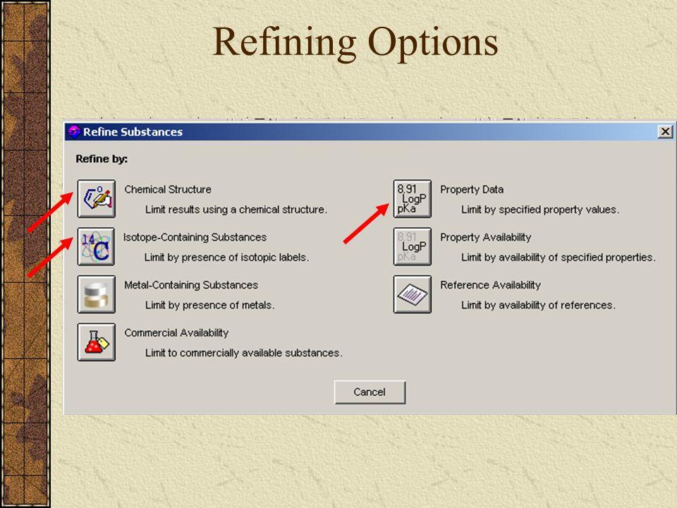 Refining Options