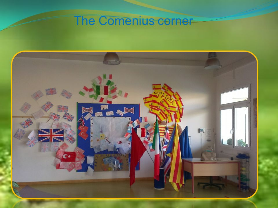 The Comenius corner