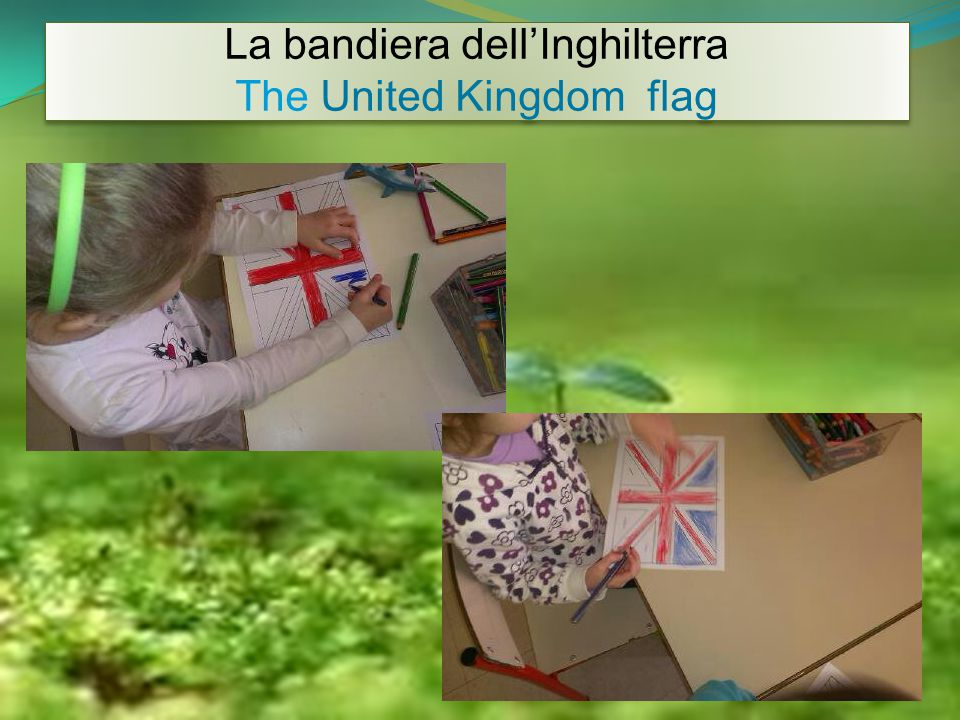 La bandiera dell'Inghilterra The United Kingdom flag La bandiera dell'Inghilterra The United Kingdom flag