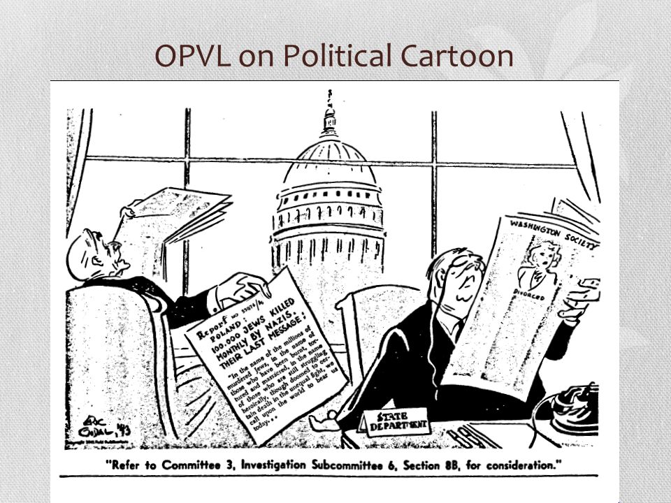 OPVL on Political Cartoon