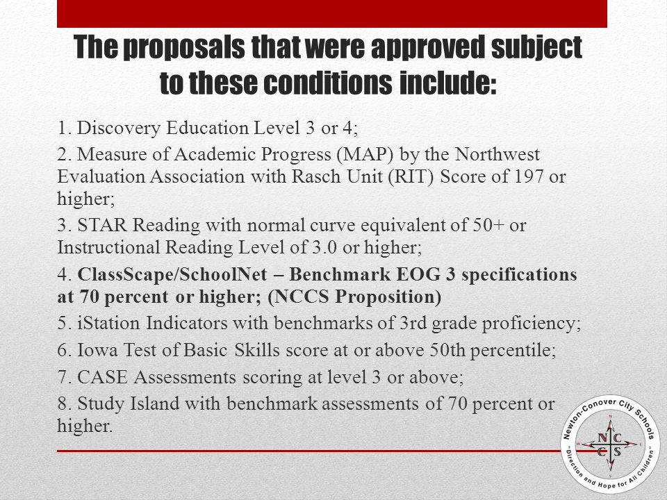 NCCS Proposition for Alternate Assessment What are ClassScape Assessments.
