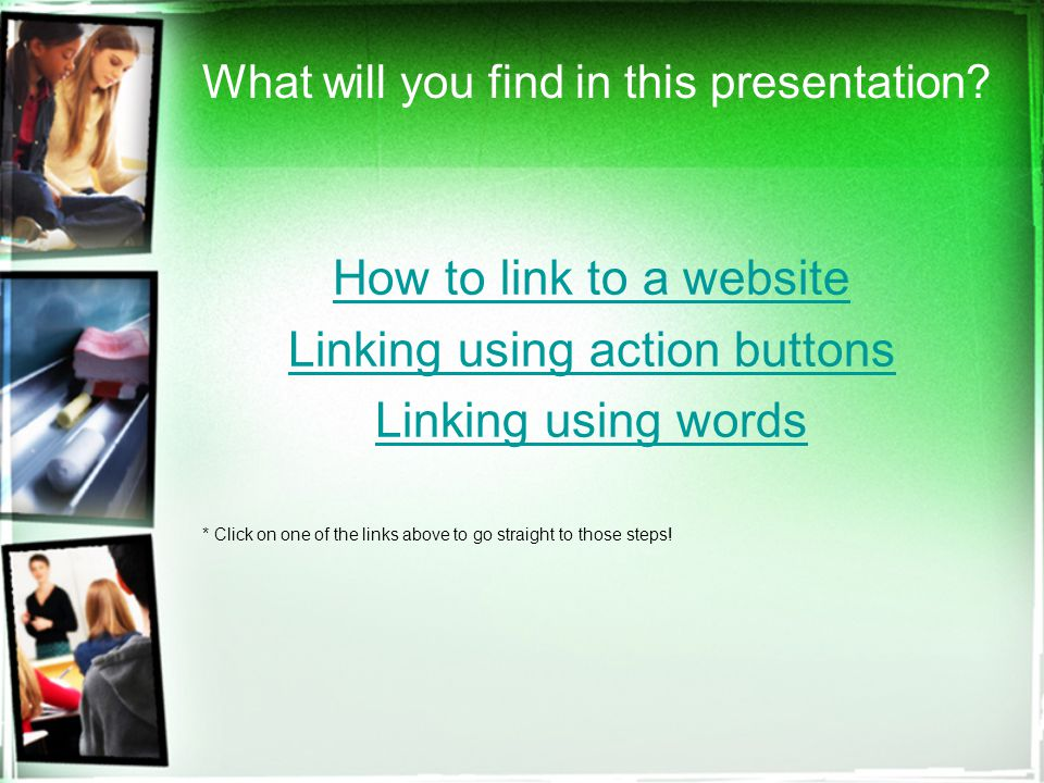 What will you find in this presentation.