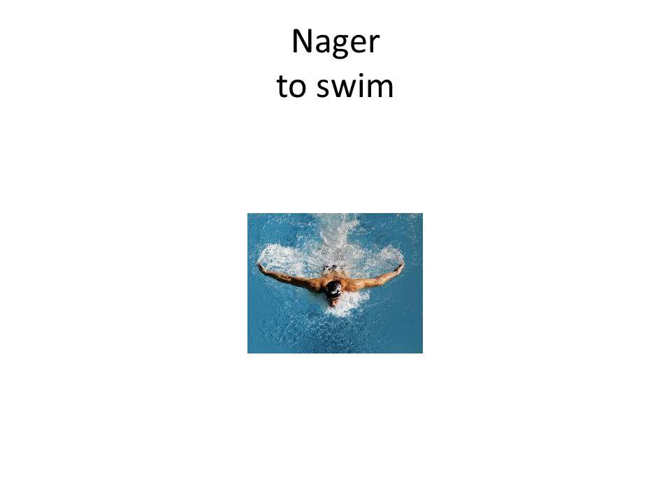 Nager to swim