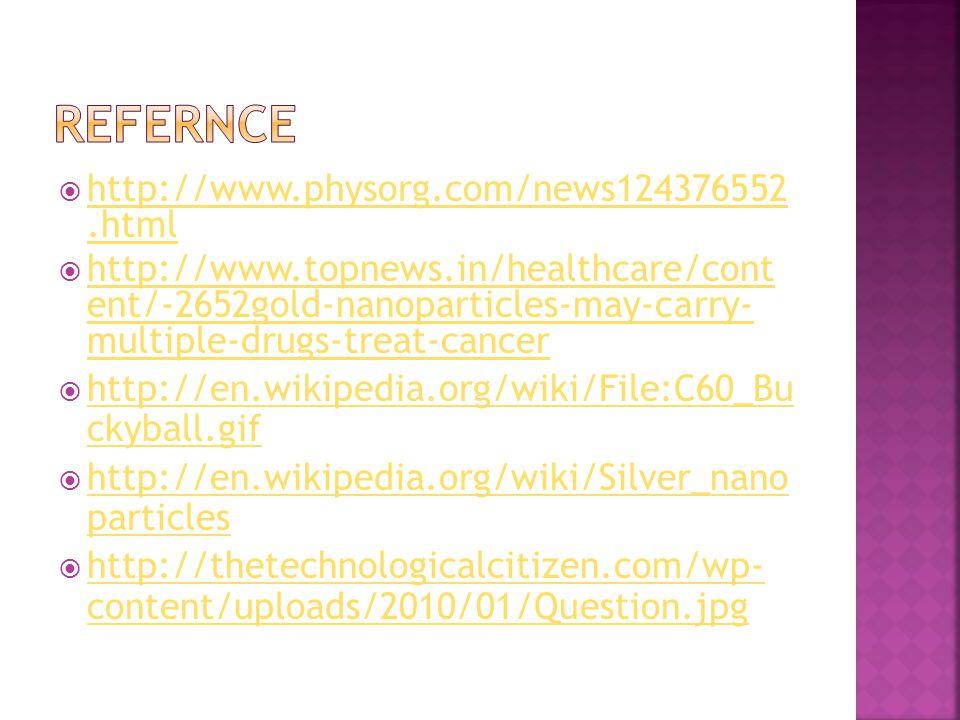  http://www.physorg.com/news124376552.html http://www.physorg.com/news124376552.html  http://www.topnews.in/healthcare/cont ent/-2652gold-nanopartic