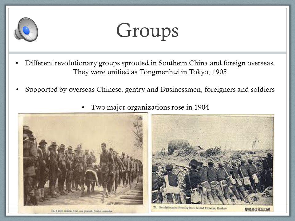1911-1912 The Revolution