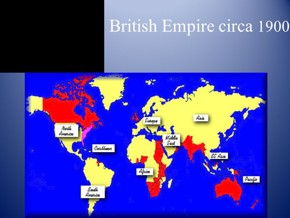 British Empire circa 1900