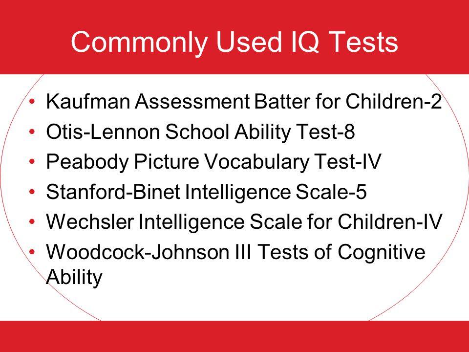 Benefits of IQ Testing I.Q.