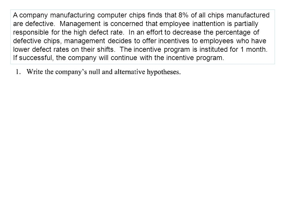 A company manufacturing computer chips finds that 8% of all chips manufactured are defective.