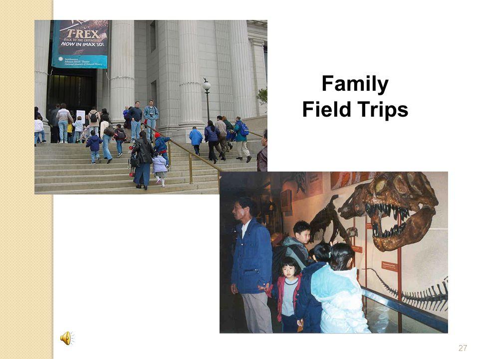 27 Family Field Trips
