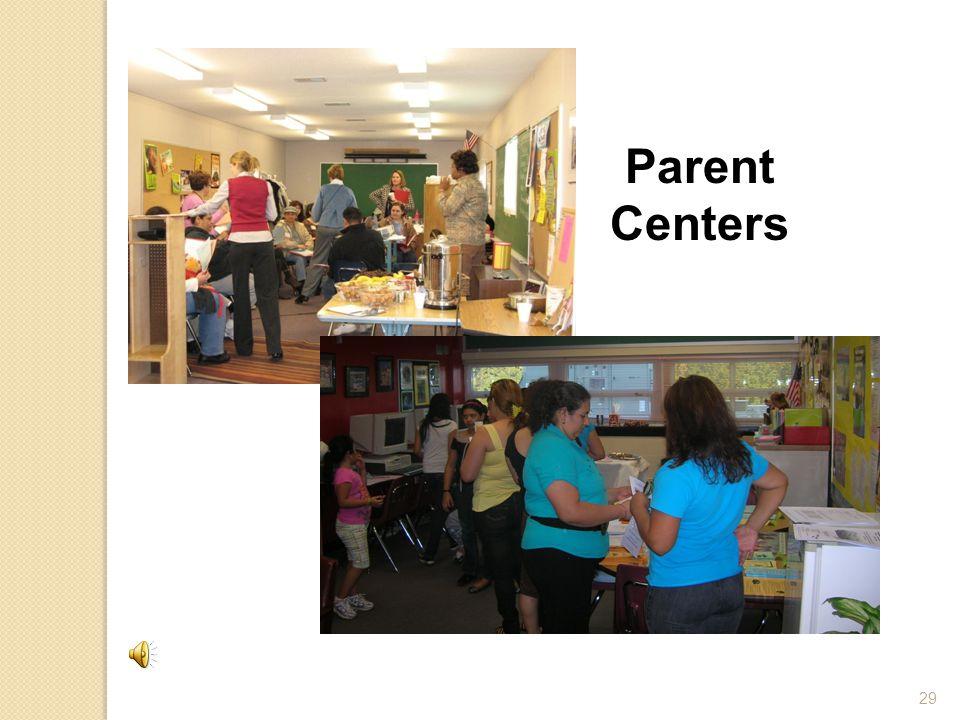 29 Parent Centers