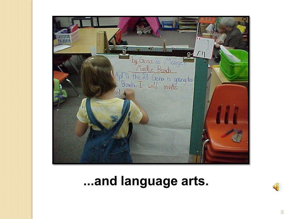 9 Language arts teachers help children learn to read and write. Language Arts