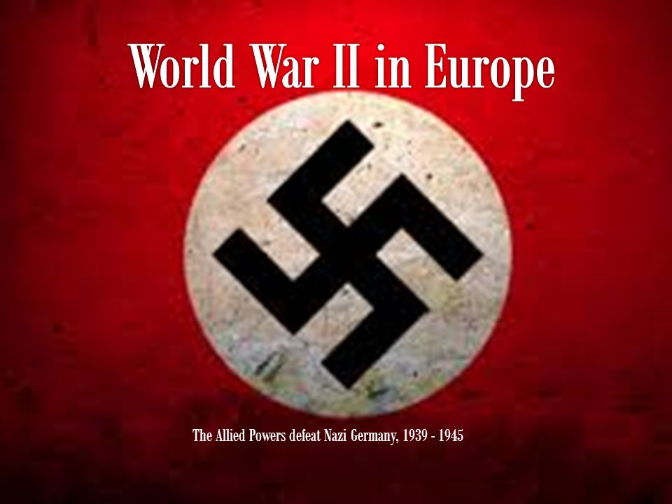  World War II began with Hitler's invasion of Poland in 1939.