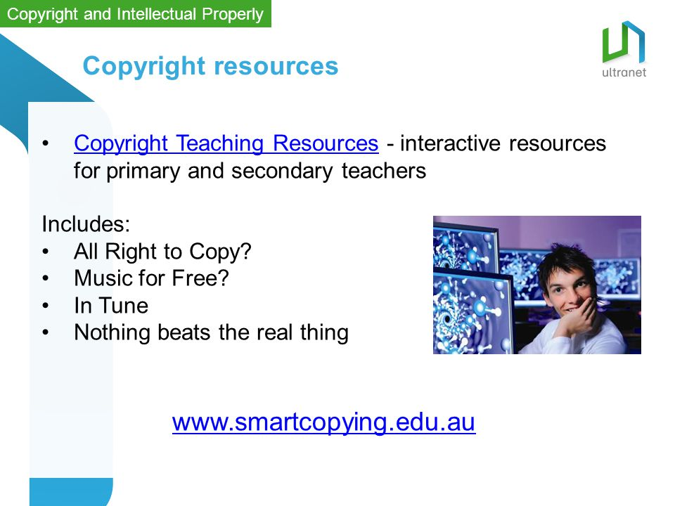 Copyright resources Copyright Teaching Resources - interactive resources for primary and secondary teachersCopyright Teaching Resources Includes: All Right to Copy.