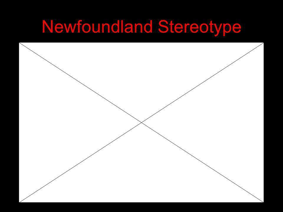 Newfoundland Stereotype